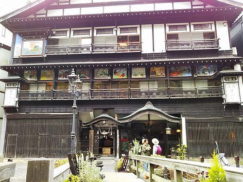 20181023山形県尾花沢市、銀山温泉2