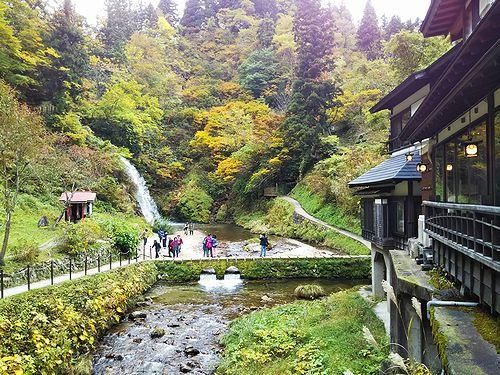 20181023山形県尾花沢市、銀山温泉4