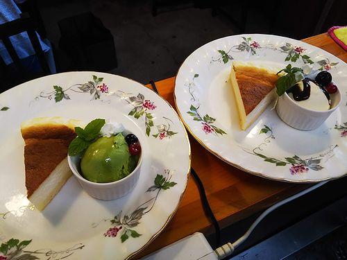 20181126草津温泉カフェ花栞(はなしおり)チーズケーキ、スポンジケーキ仕込2