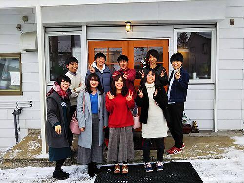 20181215草津温泉カフェ花栞(はなしおり)今日のご予約のお客様