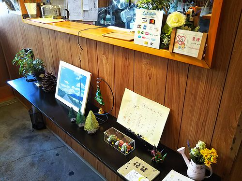 20181222草津温泉カフェ花栞(はなしおり)クレジットカード、電子マネー導入1