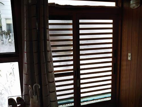 20181230草津温泉民泊花栞(はなしおり)客室玄関カーテン2