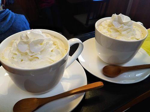 20190104草津温泉カフェ花栞(はなしおり)ウインナーコーヒー1