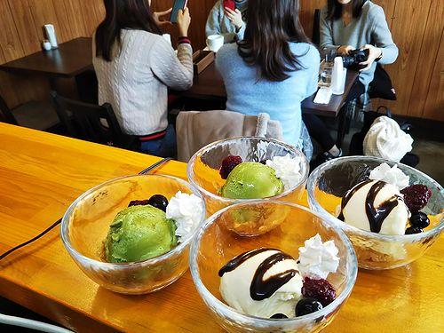 20190127草津温泉カフェ花栞(はなしおり)アイスクリーム1