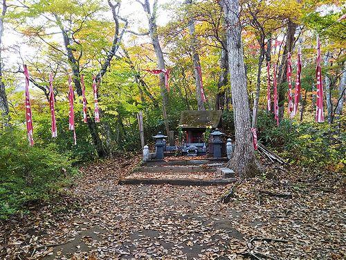 20181024宮城県蔵王町、不動滝展望台の紅葉5