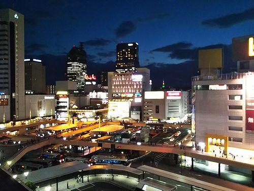 20181024宮城県仙台市、仙台の夜景1
