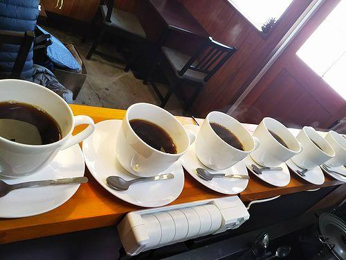 20190306草津温泉カフェ花栞(はなしおり)ホットコーヒー6杯1