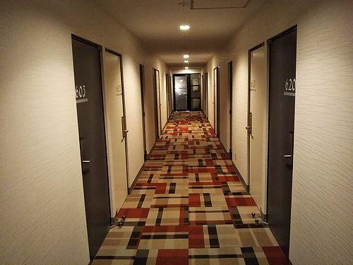20190218沖縄旅行で泊まったホテル。ホテルストーク8