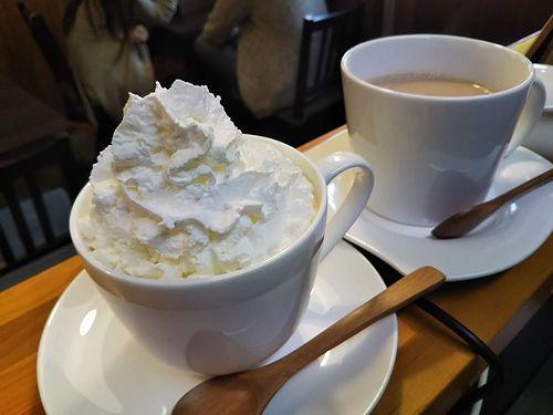 20190502草津温泉カフェ花栞(はなしおり)ウインナーコーヒー