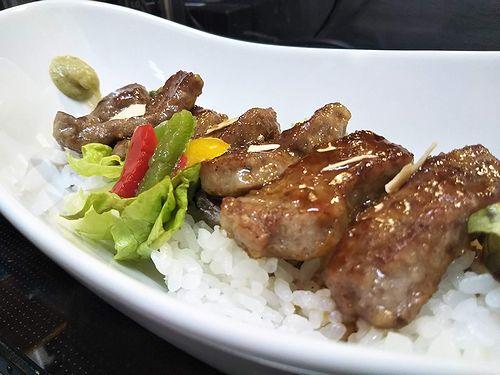20190519草津温泉カフェ花栞(はなしおり)がっつりステーキ丼