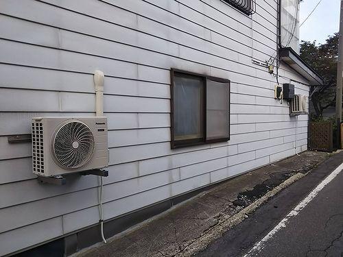 20190627草津温泉カフェ・民泊花栞(はなしおり)エアコン設置 (2)