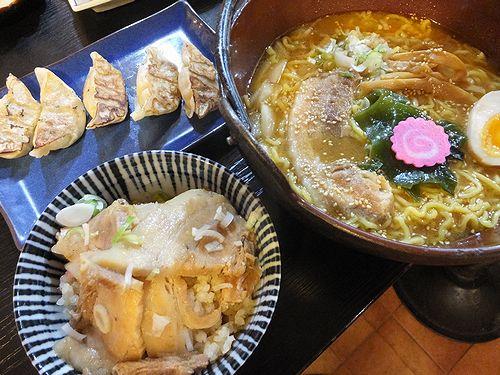 20190630草津温泉のラーメン屋。ひなた屋味噌ラーメン (2)