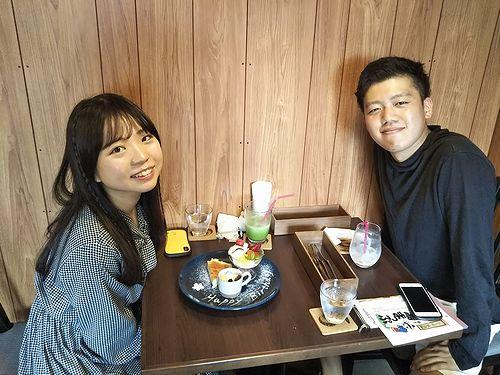 20190714草津温泉カフェ花栞(はなしおり)バースデープレート (1)