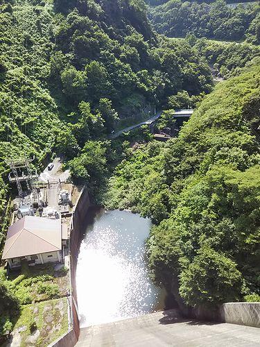 20190717群馬県みなかみ町、藤原ダム (1)