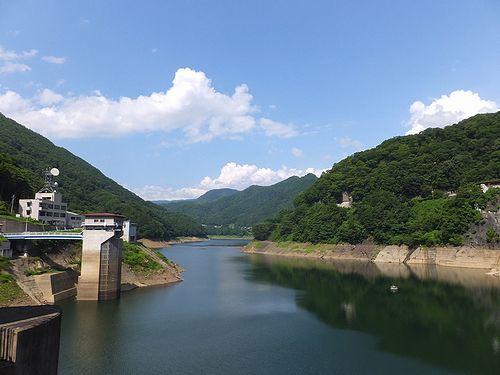 20190717群馬県みなかみ町、藤原ダム (2)