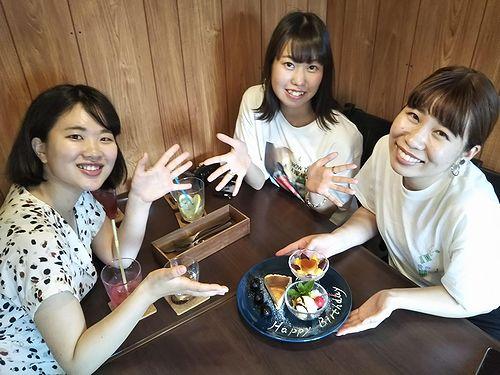 20190720草津温泉カフェ花栞(はなしおり)サプライズデザートプレート (1)