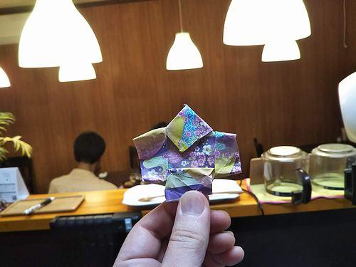 20190722草津温泉民泊花栞(はなしおり)お客様がおってくれた折り紙 (2)