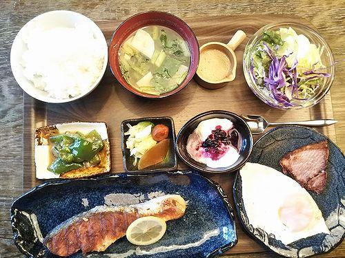 20190811草津温泉のお店。YAMAIRO朝食 (3)