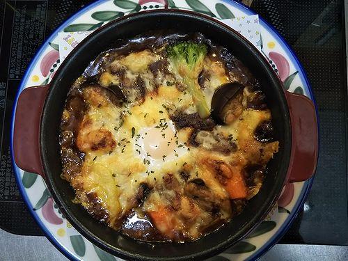 20190913草津温泉カフェ花栞(はなしおり)特製焼きカレー