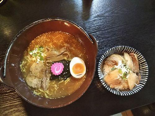 20190916草津温泉のラーメン屋。ひなた屋味噌ラーメン (1)