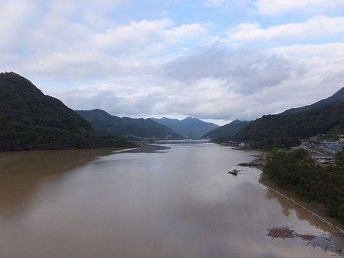 20191016群馬県長野原町、八ッ場ダム (2)