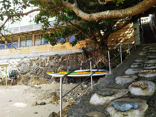 20190218沖縄県南城市、浜辺の茶屋 (1)