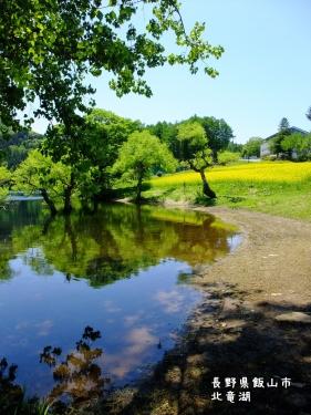 20110524長野県飯山市、北竜湖 (4)
