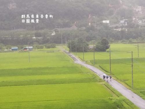 20200715群馬県東吾妻町、田園風景