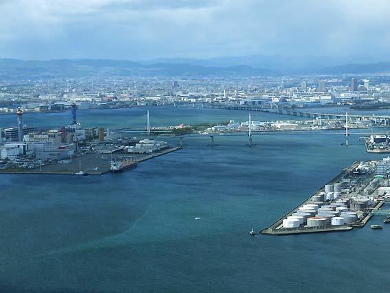 さきしまCOMSO TOWER展望台からの光景
