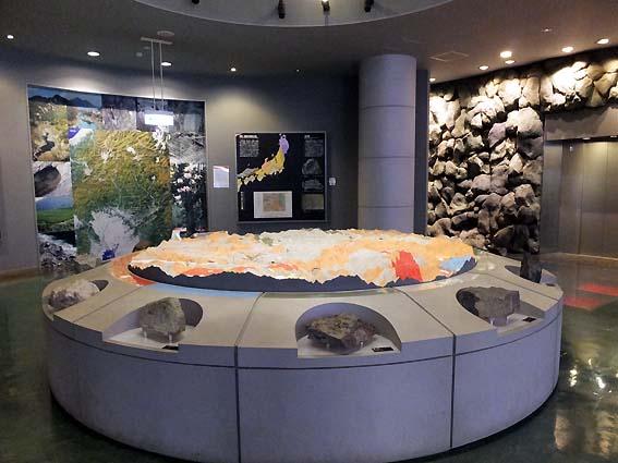 地下1階の展示室