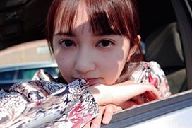 小宮有紗と車でデート。