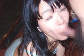 【素人フェラチオエロ画像】めっちゃエロい顔晒しながらデッカいチンポ咥えてくれてる素人さんのフェラ画像ww 40枚