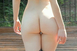 外国人女性のお尻映えエロ画像