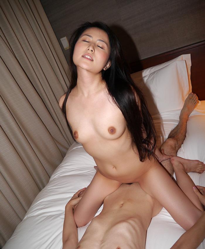 騎乗位 セックス 画像 94