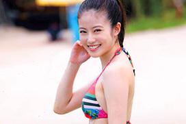 女優として見事にブレイクした今田美桜のラスト水着