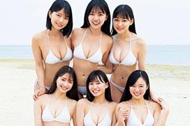 ヤンマガ最新号でミスマガジン2019が最後の集合グラビアを見せてるぞ!