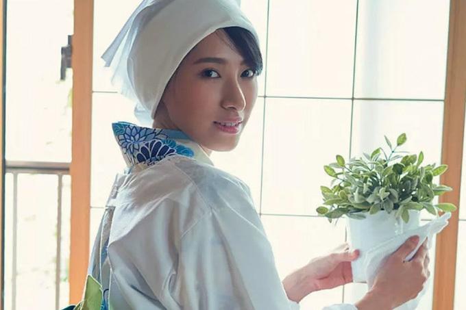 染谷有香 家政婦のお姉さんが…妄想グラビア。