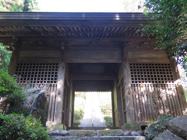 岩法寺仁王門
