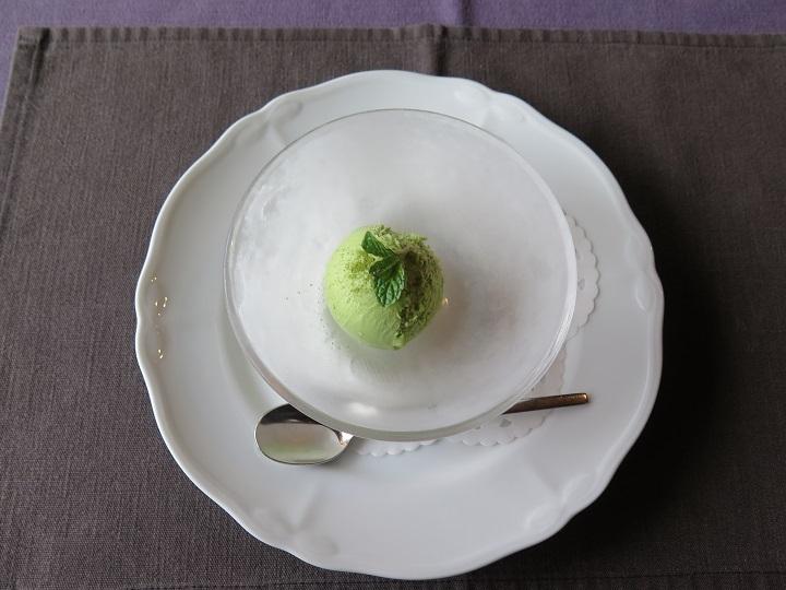 抹茶のアイス