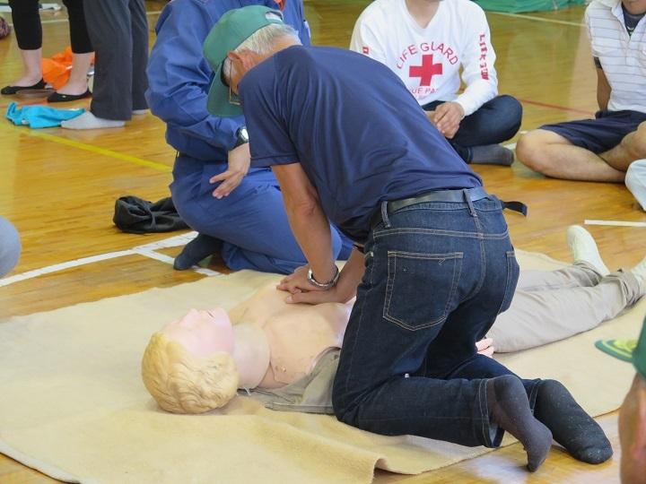 応急手当訓練