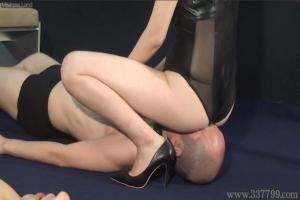 穂香女王様 MLDO-132 専属奴隷マゾ男採用試験 ミストレスランド SM M男 顔面騎乗 鞭 蝋 舐め犬