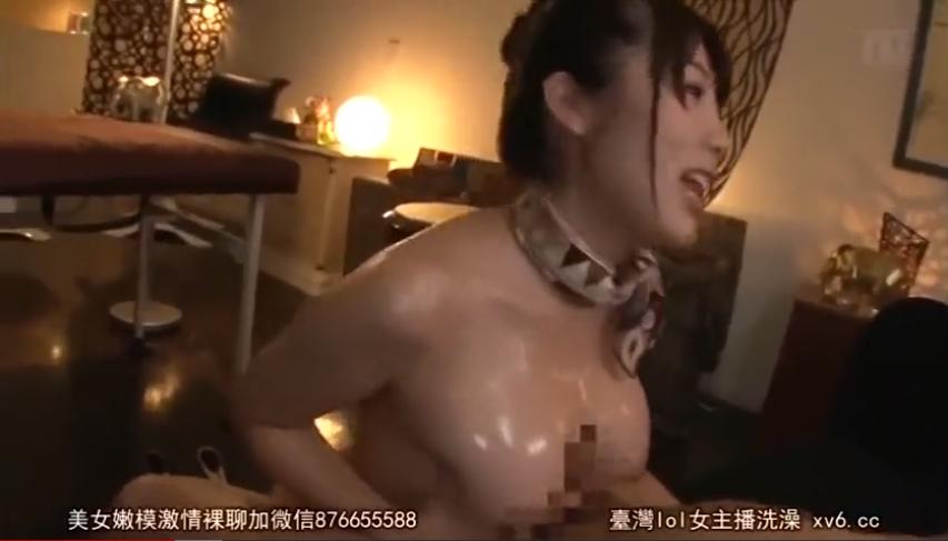 霧島さくら ローション パイズリ 巨乳 エステ嬢 全裸巨乳エステティシャン FANZA