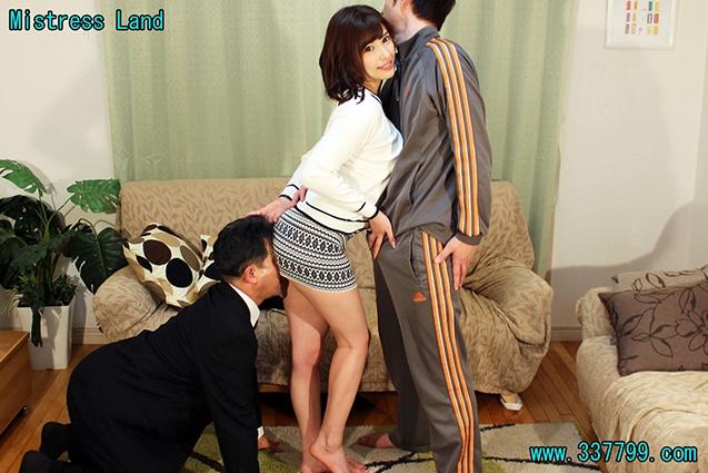 【早川瑞希女王様】 MLDO-148 寝取られマゾ夫に浮気を見せつけあざ笑う妻  ミストレスランド M男ちゃんねる 舐め犬