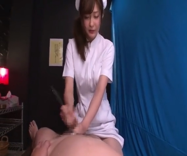 石原莉奈 ナース 蝋 乳首責め 手コキ 潮吹き M男 FANZA
