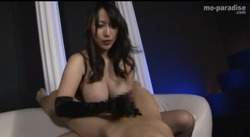 星咲優菜 足コキ サテングローブ 手コキ 潮吹き M男 FANZA
