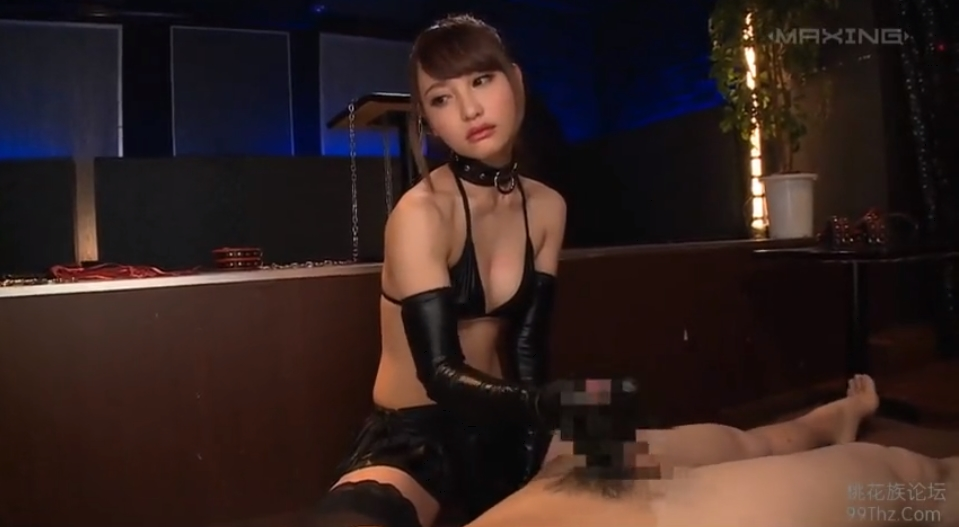 咲野の花 グローブ手コキ S女 手コキ M男 FANZA
