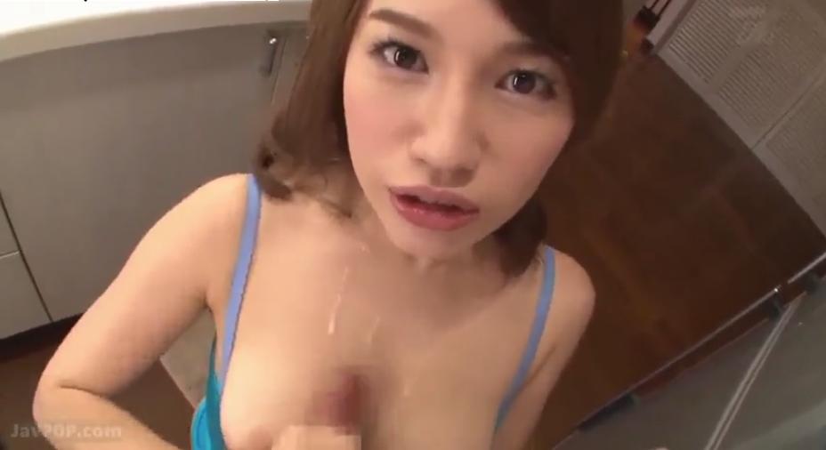 本田莉子 巨乳 痴女 淫語 手コキ フェラ M男 FANZA