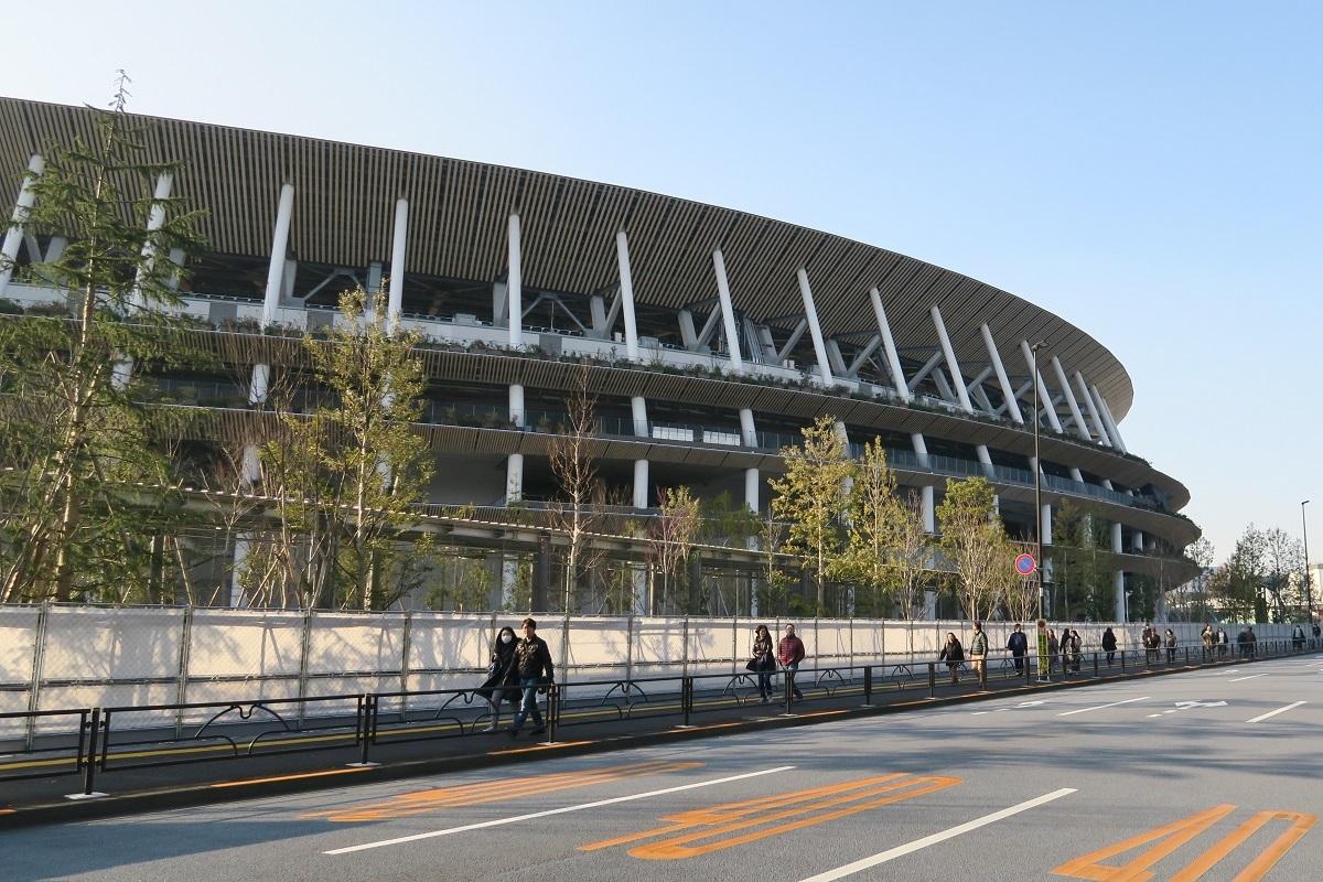新国立競技場2020012110