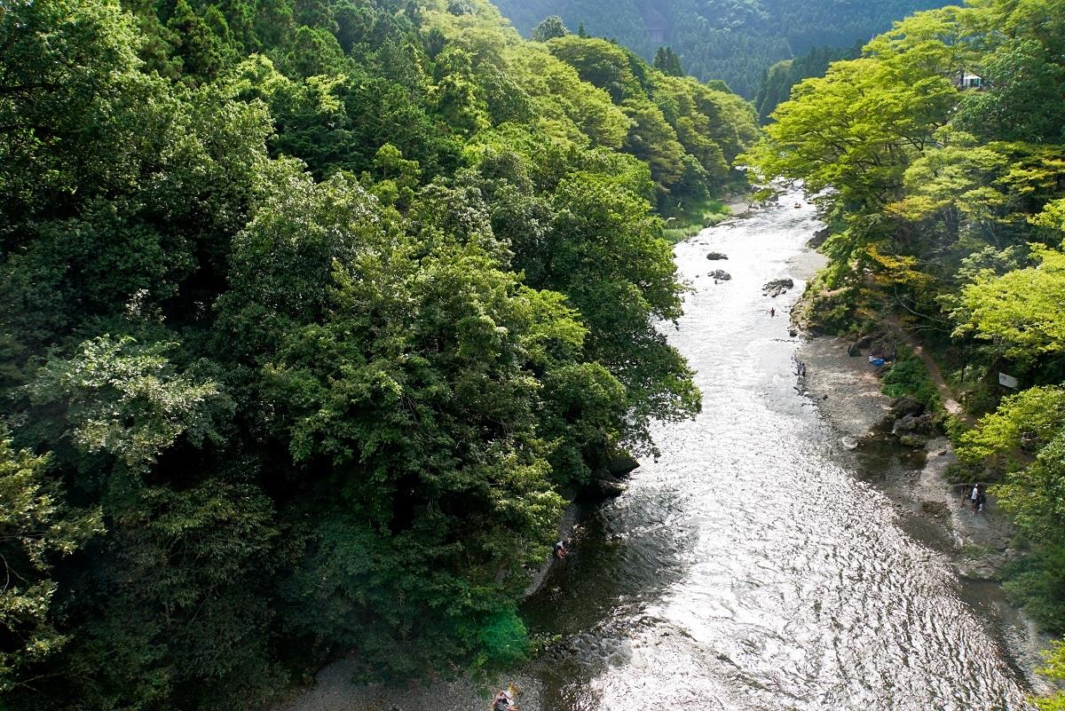 多摩川御岳橋付近2018082007
