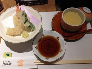 木曽路天ぷら茶碗蒸し20181117